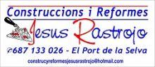 CONSTRUCCIONS-I-REFORMES-JESUS-RASTROJO - CONSTRUCCION / REHABILITACION / REFORMAS