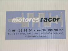 MOTORES RACOR, DESGUACES / CHATARRA en MONCADA - VALENCIA