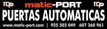 PUERTAS-AUTOMATICAS-MATIC-PORTS.L. - DOMOTICA / AUTOMATISMOS
