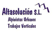 ALTASOLUCION-SL - TRABAJOS VERTICALES / EN ALTURA