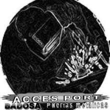 PUERTAS METÁLICAS ACCES PORT & BADOSA, CERRADURAS / CIERRES / CERRAJERIAS en BARCELONA - BARCELONA