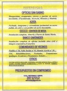 DECORACIONES-CG - EQUIPAMIENTO COMERCIAL / INSTALACIONES COMERCIALES