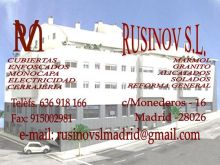 ÁNGEL RUSINOV, REFORMAS INTEGRALES en MADRID - MADRID
