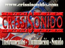 CRISSISONIDO - INSTRUMENTOS MUSICALES