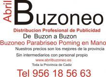 ABRIL-BUZONEO - BUZONEO / REPARTO DE CORRESPONDENCIA