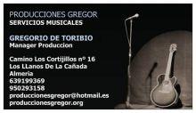 GREGOR-SERVICIOS-MUSICALES - ESPECTACULOS / ARTISTAS / ANIMACION