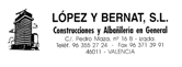 LOPEZ-Y-BERNATS.L. - CONSTRUCCION / REHABILITACION / REFORMAS