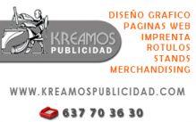 KREAMOS-PUBLICIDAD - ARTES GRAFICAS / DISEÑO GRAFICO