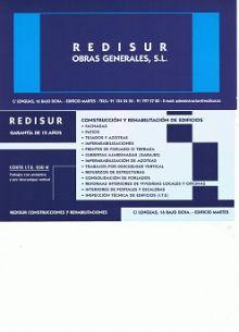 REDISUR - REFORMAS INTEGRALES