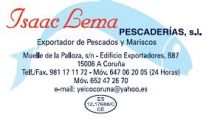 ISAAC-LEMA-PESCADERIASS.L - PESCADO / MARISCO (MAYORISTAS)