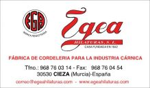 EGEA-HILATURAS.-S.L - CUERDAS / CORDELES / REDES
