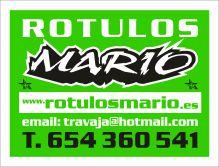 ROTULOS-MARIO-YECLA - ROTULOS / LUMINOSOS / PUBLICIDAD EXTERIOR