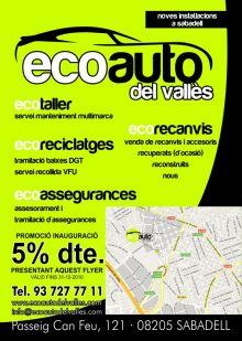 ECOAUTO DEL VALLES, TALLERES MECANICA / PINTURA / GRUAS en SABADELL - BARCELONA