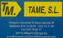 TAME-S.L-ENCOFRADOS - FERRALLAS / ENCOFRADOS