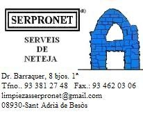 SERVEIS-PROFESSIONALS-SERPRONET-S.L - LIMPIEZA