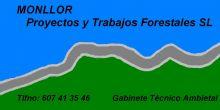 MONLLOR PTF SL, TRABAJOS FORESTALES / SELVICULTURA en ALFAZ DEL PI - ALICANTE