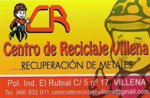 CENTRO-DE-RECICLAJE-VILLENA - RECICLAJE / RECUPERACION / GESTION DE RESIDUOS