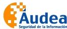 AUDEA-SEGURIDAD-DE-LA-INFORMACION-SL - AUDITORIA / CONSULTORIA