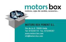 MOTORS-BOX-PONENT-S.L. - REPUESTOS AUTOMOCION / TUNING
