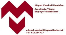 MIQUEL-VENDRELL-ARQUITECTE-TÈCNIC - ARQUITECTURA