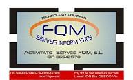 SERVEIS-I-MANTENIMENTS-INFORMATICS-FQM-SL - INFORMATICA EQUIPOS / SERVICIOS