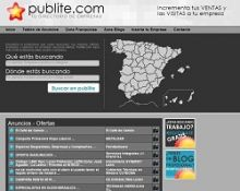 PUBLITE.COM, INTERNET PORTALES / SERVICIOS en ALBALAT DELS SORRELLS - VALENCIA
