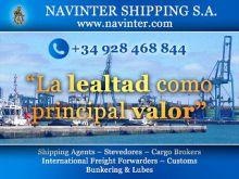 NAVINTER-SHIPPING-S.A. - ADUANAS / TRANSITARIOS / CONSIGNATARIOS