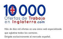 1000 OFERTAS DE TRABAJO EN INGLATERRA, RECURSOS HUMANOS / SELECCION DE PERSONAL en VALENCIA - VALENCIA