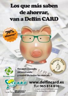 DELFÍN CARD, DESGUACES / CHATARRA en VILLENA - ALICANTE
