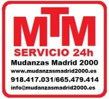 MUDANZAS-MADRID2000 - MUDANZAS / GUARDAMUEBLES