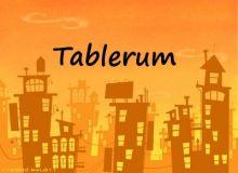TABLERUM - JUGUETES / JUEGOS / PASATIEMPOS