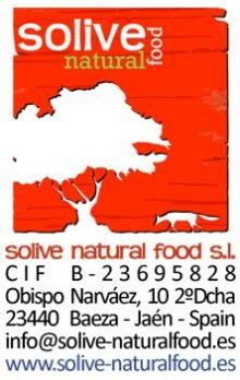 SOLIVE-NATURAL-FOOD-S.L - DISTRIBUCION ALIMENTACION / BEBIDAS