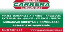 MUDANZAS-CARRERA - MUDANZAS / GUARDAMUEBLES